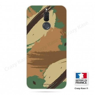 Coque Huawei Mate 10 Lite souple motif Camouflage - Crazy Kase