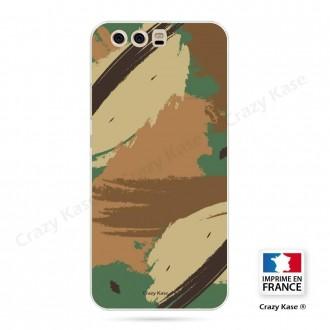 Coque Huawei P10 souple motif Camouflage - Crazy Kase