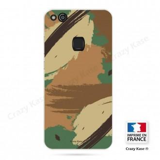 Coque Huawei P10 Lite souple motif Camouflage - Crazy Kase