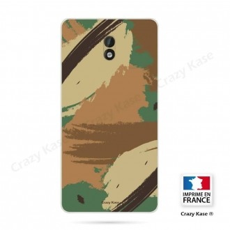 Coque Nokia 3 souple motif Camouflage - Crazy Kase