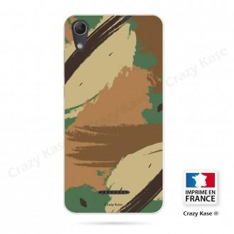 Coque Wiko Lenny 4 souple motif Camouflage - Crazy Kase