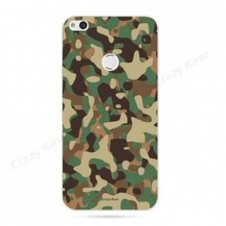 Coque Huawei P8 Lite (2017) souple motif Camouflage militaire - Crazy Kase