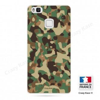 Coque Huawei P9 Lite souple motif Camouflage militaire - Crazy Kase