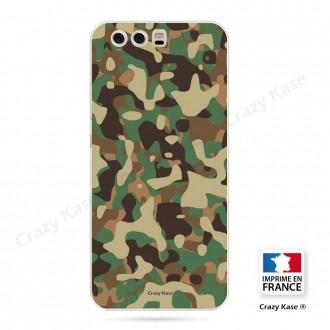Coque Huawei P10 souple motif Camouflage militaire - Crazy Kase