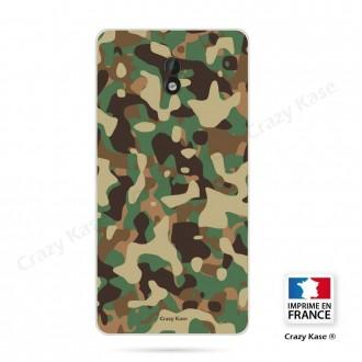 Coque Nokia 3 souple motif Camouflage militaire - Crazy Kase