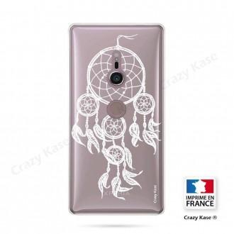Coque Sony Xperia XZ2 souple motif Attrape Rêves Blanc - Crazy Kase