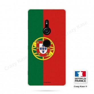 Coque Sony Xperia XZ2 souple motif Drapeau Portugais - Crazy Kase