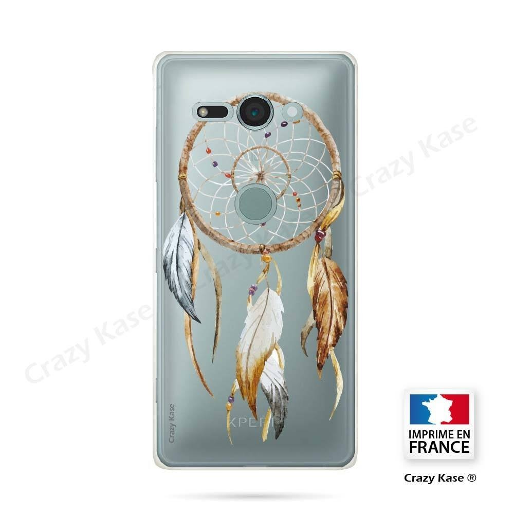 Coque Sony Xperia XZ2 Compact souple motif Attrape Rêves Nature - Crazy Kase