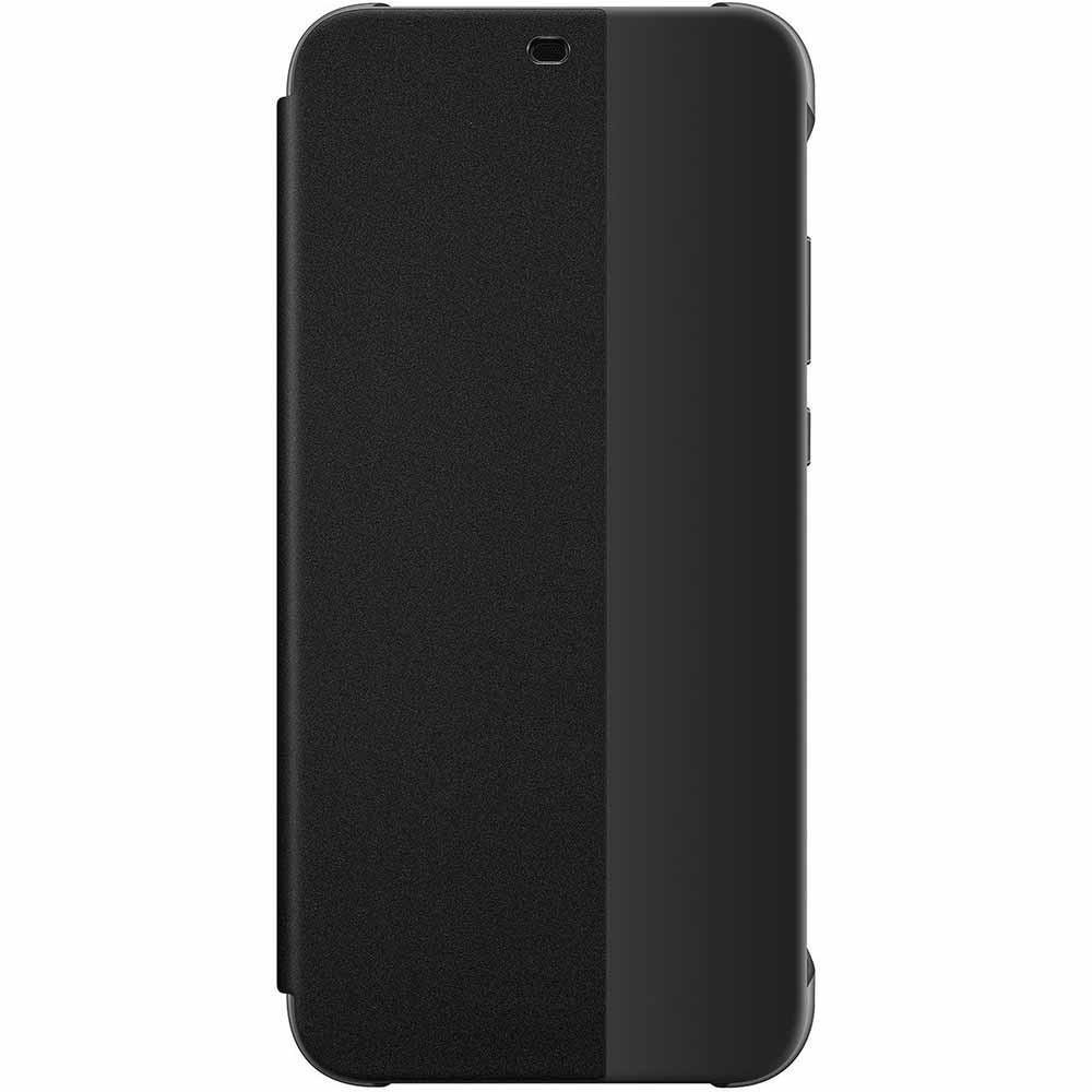 Etui Huawei P20 Lite Folio Smart View Flip Cover Noir - Huawei