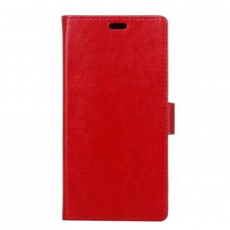 Etui Nokia 6 Portefeuille Rouge - Crazy Kase