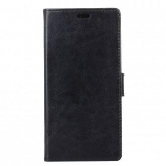 Etui Nokia 6 Portefeuille Noir - Crazy Kase