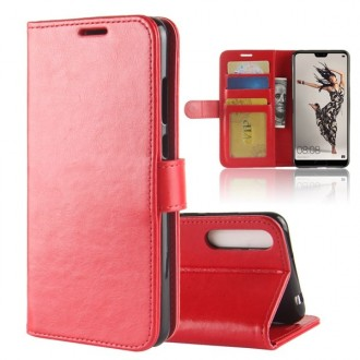 Etui Huawei P20 Pro Portefeuille Rouge - Crazy Kase