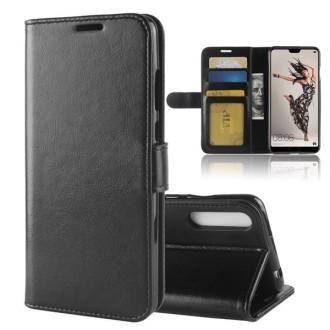 Etui Huawei P20 Pro Portefeuille Noir - Crazy Kase