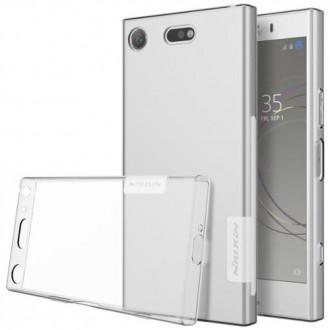 Coque Sony Xperia XZ1 Transparente souple - Nillkin