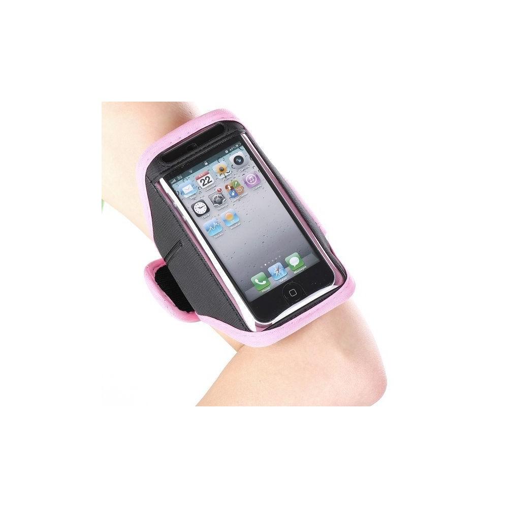 Brassard contour rose pour iPhone 5