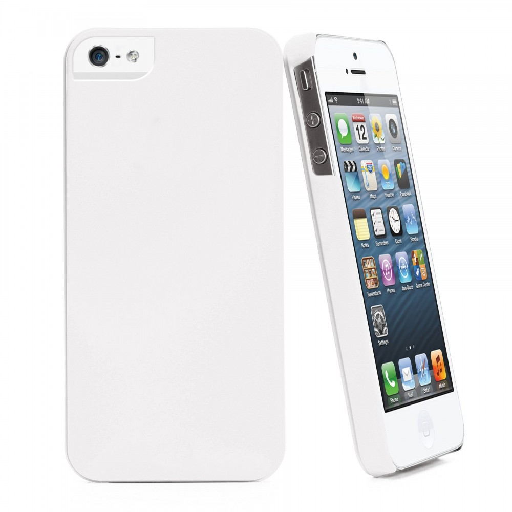 Coque Muvit igum blanc Apple iPhone 5