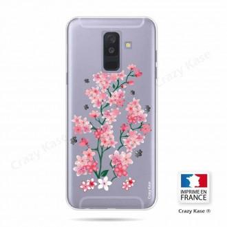 Coque Galaxy A6+ (2018) souple motif Fleurs de Sakura - Crazy Kase