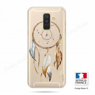 Coque Galaxy A6+ (2018) souple motif Attrape Rêves Nature - Crazy Kase