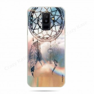 Coque Galaxy A6+ (2018) souple motif Attrape rêves - Crazy Kase