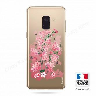 Coque Galaxy A6 (2018) souple motif Fleurs de Cerisier - Crazy Kase