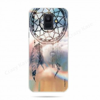 Coque Galaxy A6 (2018) souple motif Attrape rêves - Crazy Kase