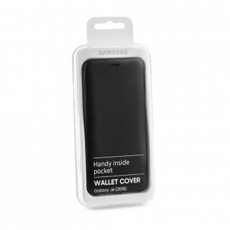 Etui Galaxy J6 (2018) Noir Wallet Cover - Samsung