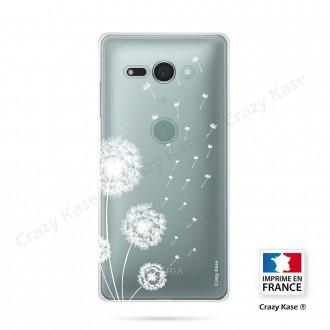Coque Sony Xperia XZ2 Compact souple Fleurs de pissenlit - Crazy Kase
