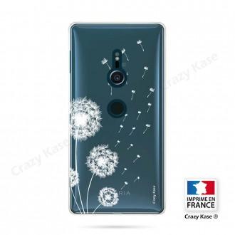 Coque Sony Xperia XZ2 souple Fleurs de pissenlit - Crazy Kase