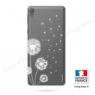 Coque Xperia E5 souple Fleurs de pissenlit - Crazy Kase
