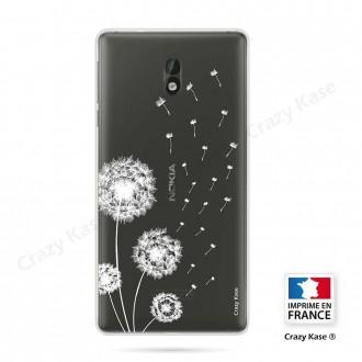 Coque Nokia 3 souple Fleurs de pissenlit - Crazy Kase