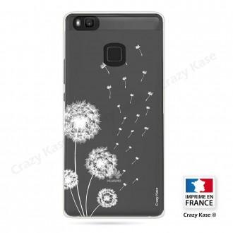 Coque Huawei P9 Lite souple Fleurs de pissenlit - Crazy Kase