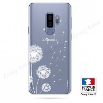 Coque Galaxy S9+ souple Fleurs de pissenlit - Crazy Kase