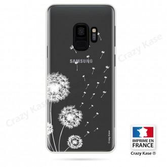 Coque Galaxy S9 souple Fleurs de pissenlit - Crazy Kase