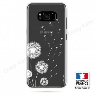 Coque Galaxy S8 souple Fleurs de pissenlit - Crazy Kase