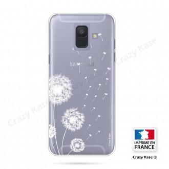 Coque Galaxy A6 (2018) souple Fleurs de pissenlit - Crazy Kase