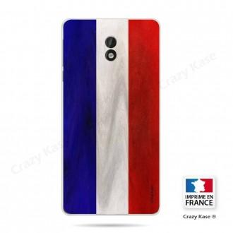 Coque Nokia 3 souple Drapeau Français Vintage- Crazy Kase