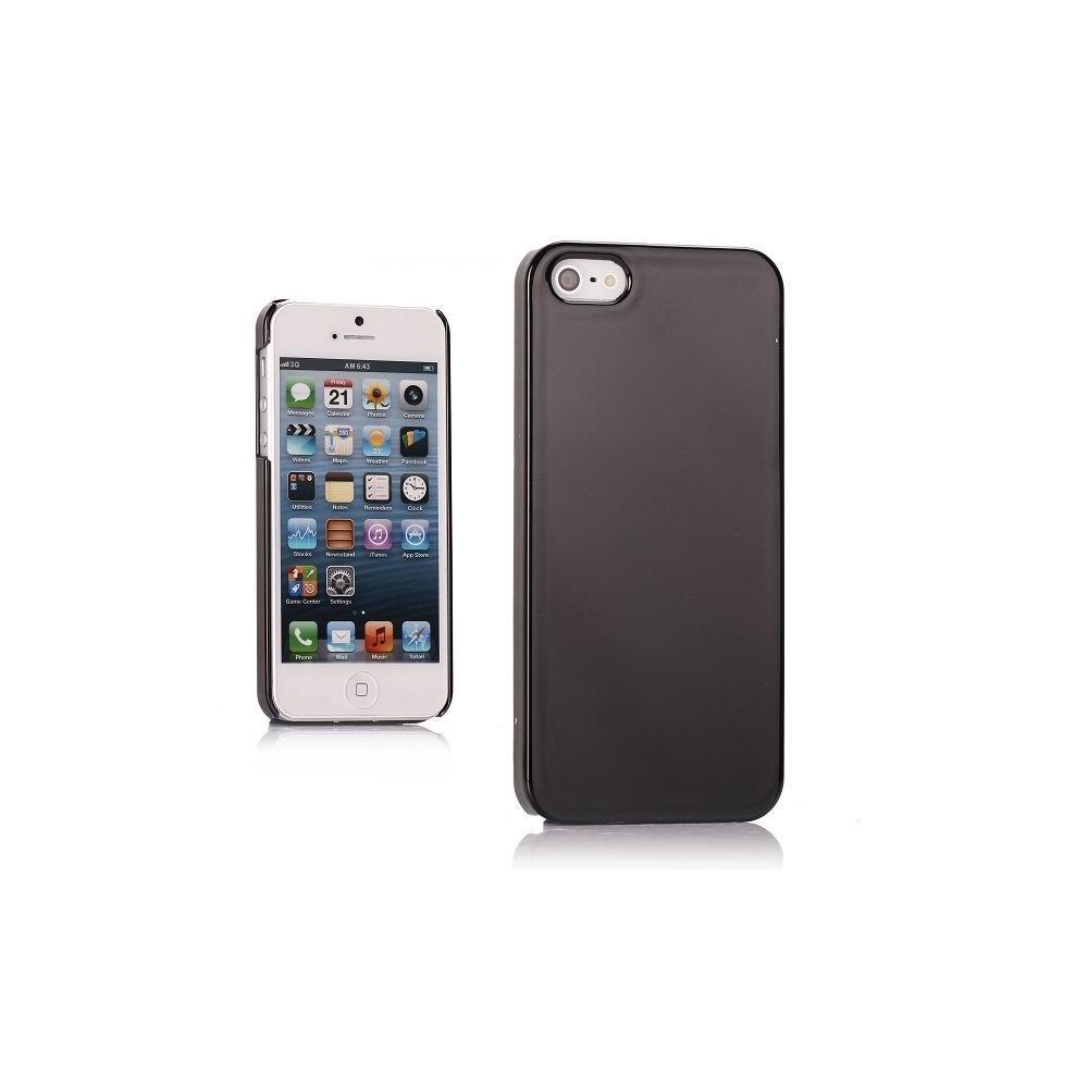 Coque plastique effet miroir noir pour iPhone 5