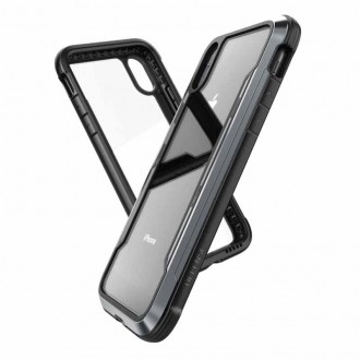 Coque iPhone Xr Defense Shield Noire - Xdoria