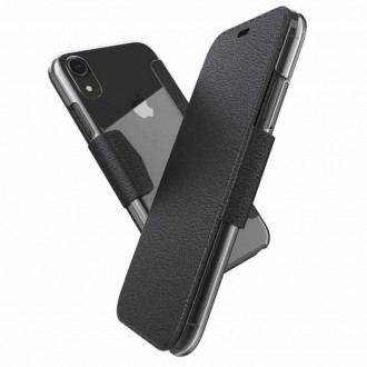 Etui iPhone Xr Engage Folio Noir - Xdoria