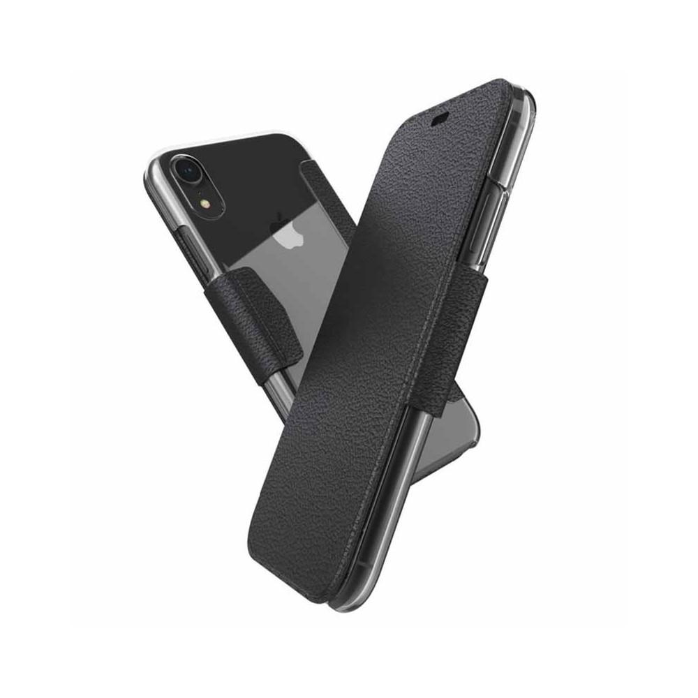 Etui iPhone Xr Engage Folio Noir - Xdoria