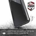 Coque iPhone Xs Max Defense Shield Noire - Xdoria