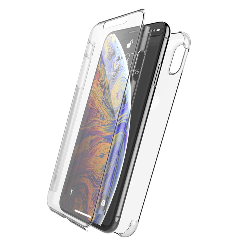 coque iphone xs transparente 360