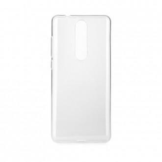 Coque Nokia 5.1 transparente et souple - Crazy Kase
