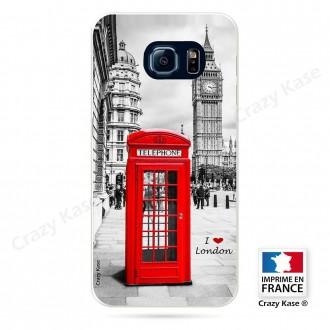 Coque Galaxy S6 Edge souple motif Londres -  Crazy Kase