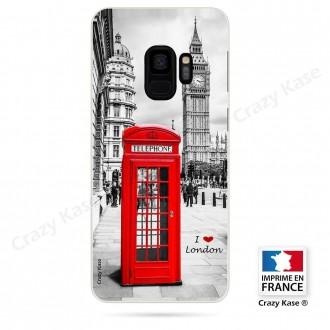 Coque Galaxy S9 souple motif Londres - Crazy Kase