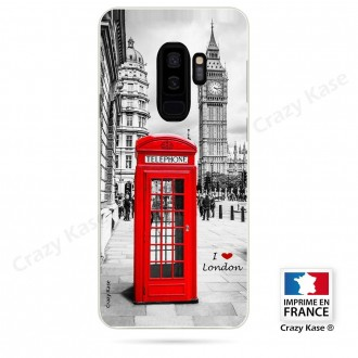 Coque Galaxy S9+ souple motif Londres -  Crazy Kase