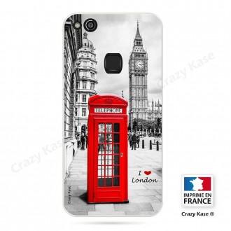 Coque Huawei P10 Lite souple motif Londres - Crazy Kase