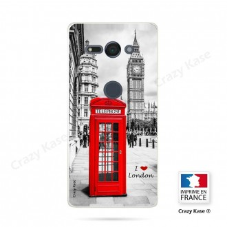 Coque Sony Xperia XZ2 Compact souple motif Londres - Crazy Kase