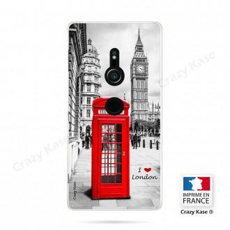 Coque Sony Xperia XZ2 souple motif Londres - Crazy Kase