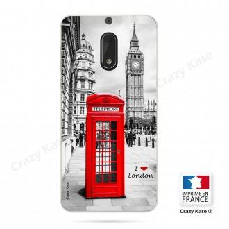 Coque Nokia 6 souple motif Londres -  Crazy Kase